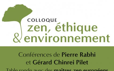 Colloque zen éthique environnement