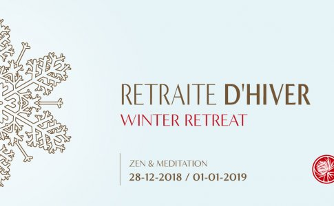 winter zen retreat meditation